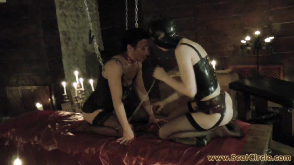 ScatCircle - Mia Gives Rieke A Good Treatment - Screen 2