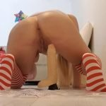 Thefartbabes – Xmas Cock Messy Punishment (FHD-1080p)