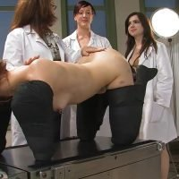 Doctor With Nurses and Human Toilet Girl [pissing.com]