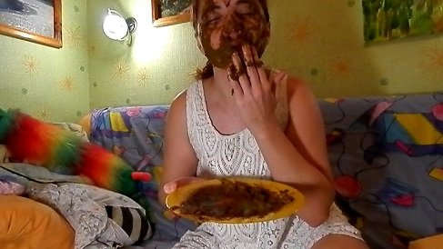 Dirty Barbara - Mouth full of shit! Extreme Scat in FULL-HD - Picture 3