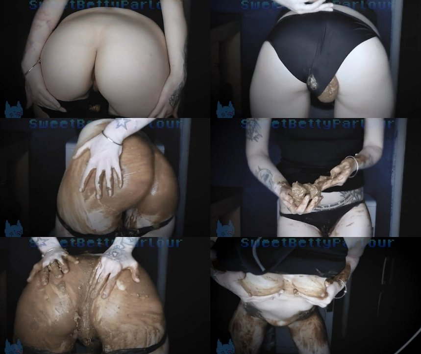 Dirty Betty - Smpl Laxative Pantypooping (FULL-HD 1080p)