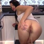 Evamarie88 - Desperation In Interview Poo Smeared Dress (Cool Enema - FHD 1080p)
