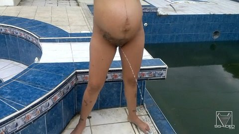 Solo Scat And Pee The Pregnant And Her Girlfriend - Columbian Total Amateur Series (Full-HD 1080p) Image 3