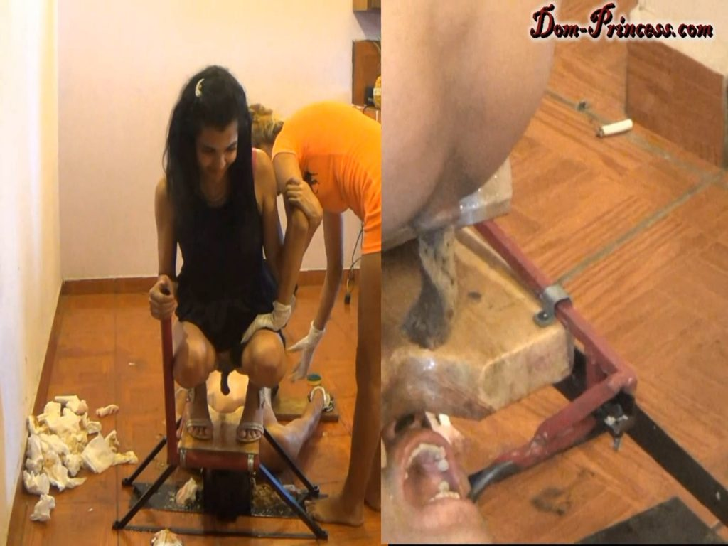 The Raw Tapes, Breaking a Man into a Human Toilet (Britany, Christine, Samantha, Carmen, Carina, Chrystal) Image 4