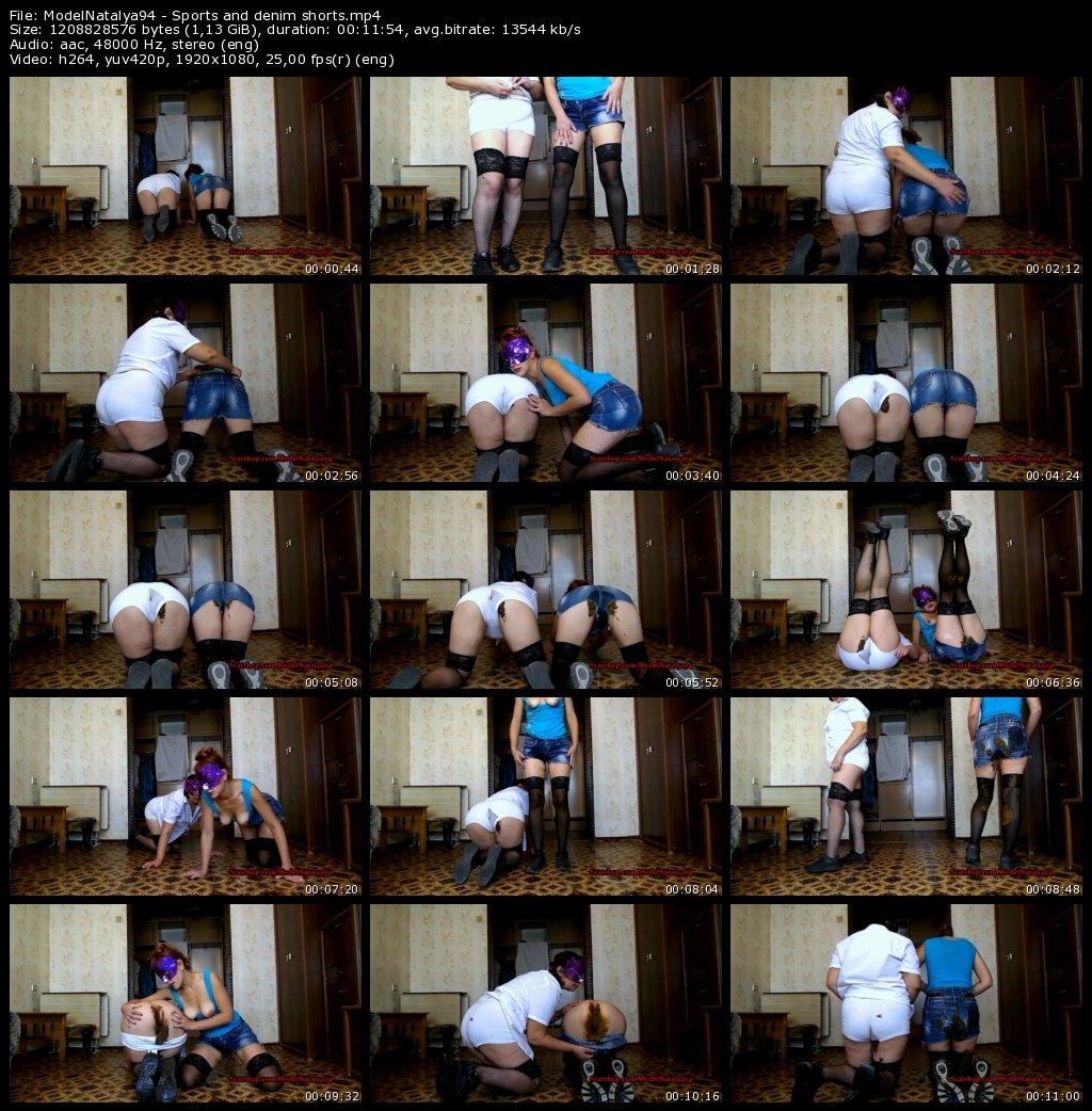 DOWNLOAD ModelNatalya94 - Sports and denim shorts (Full-HD)