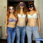The new adventures of the three girls in jeans (ModelNatalya94)
