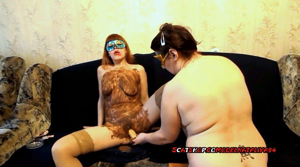 Yana and Olga shitting on each other (ModelNatalya94) Image 2