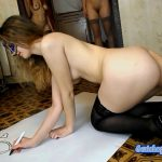 Liquid diarrhea painting (Modelnatalya94)