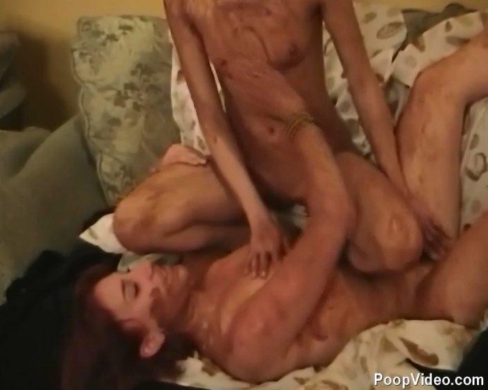 Russian Lesbian Girls in Kinky Scat Games (576p) Image 3