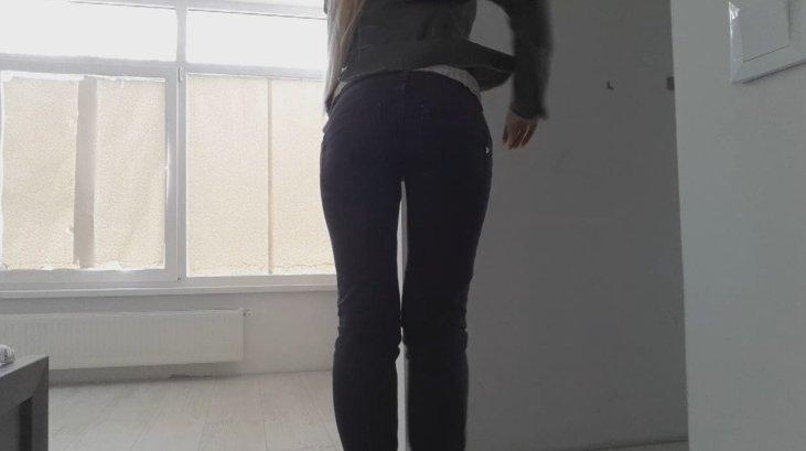 Blonde dundup jeans poop - Thefartbabes (Full HD 1080p)