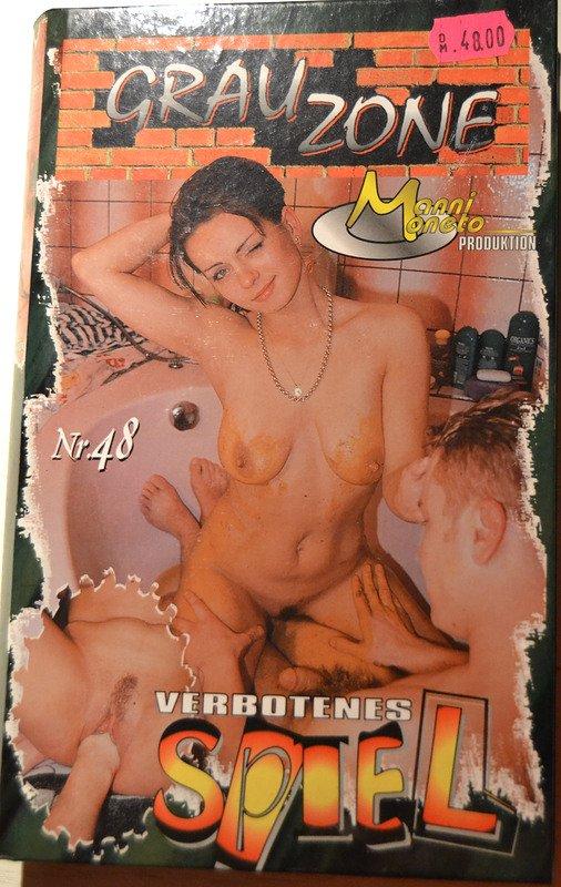 Grauzone 48 – Verbotenes Spiel (VHS-RIP) Rare Scat