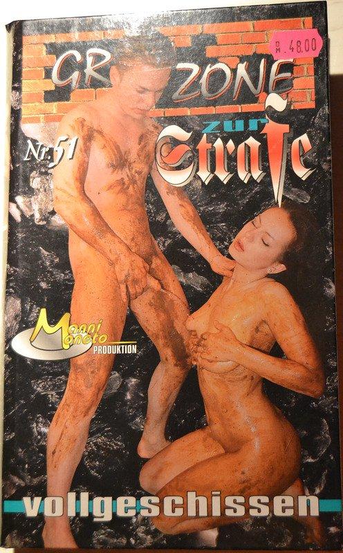 Grauzone 51 - Zur Strafe vollgeschissen (VHS-RIP) RARE SCAT