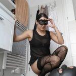 Scheisse entsorgung über sklavenmaul (Lady Milena) Femdom Scat in HD-720p