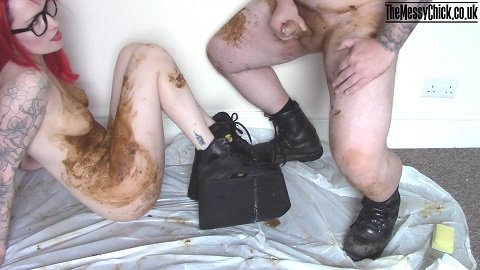 Platform boots pee and messy bj (The Messy Chick aka Mia Fox) Image 6