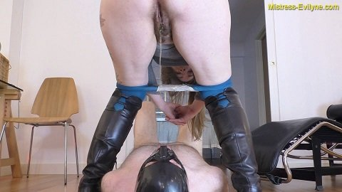 Smoked Shit - Mistress Evilyne (Femdom Scat in Full HD)