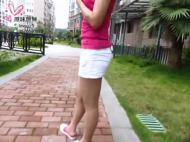 Sexy Poop - Chinese Girl 24 (Exclusive Scat, Teen, Outdoor)