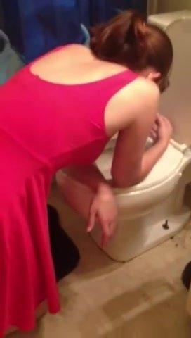 Carol Ann puking (Vomiting Video)