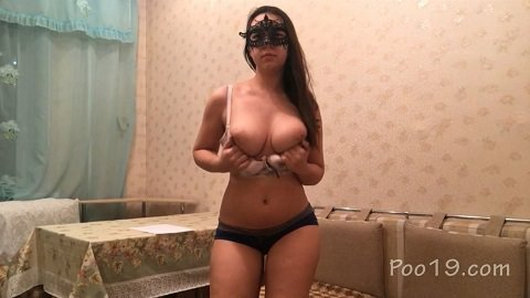 NEW girl Svetlana is 20 years old. Long and powerful shit (Poo19.com - Milana Smelly)