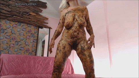 Abbraxa - Scat Covered Girl Shit Fuck (Scat, Piss, Big shit, Oral, All sex, Smearing, Cumshots) Image 3