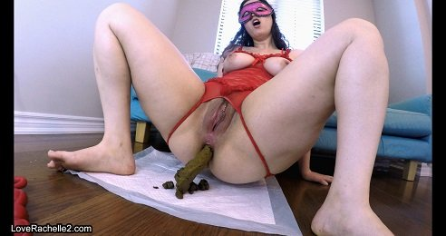 4k UHD - What I Ate! Cum With Shitty Anal Beads (LoveRachelle2) Image 2