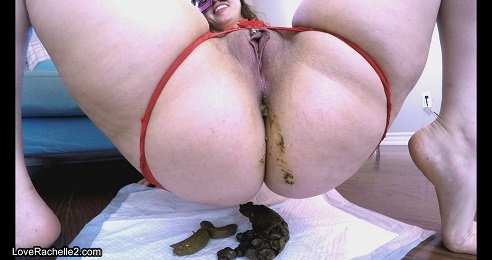 4k UHD - What I Ate! Cum With Shitty Anal Beads (LoveRachelle2) Image 3