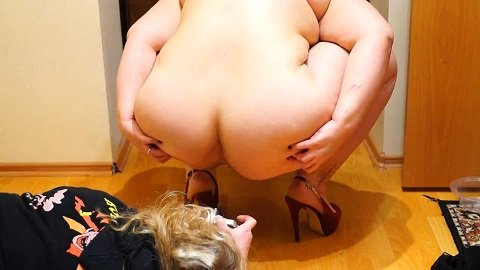 BBW scat - Full plate of shit (Rushscat) Image 3