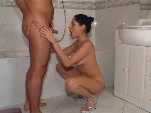 Scat And Pee Sex With Estefania In Silver Heels (576p) - Image 1