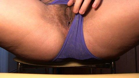 Dirty Barbara - Poop in Blue Panty (1080p)
