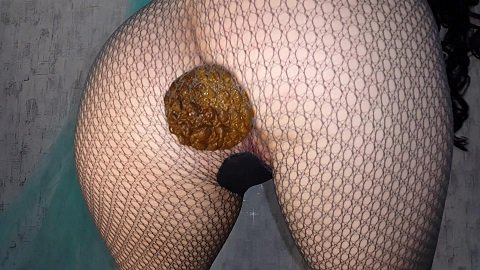 [2019] Anna Coprofield - Fishnet pantyhose (1,95 gb)