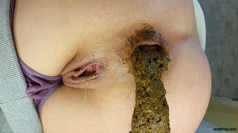 [2019] Anna Coprofield - Today Morning Poop (May 24) 1,95 Gb / FullHD-1080p
