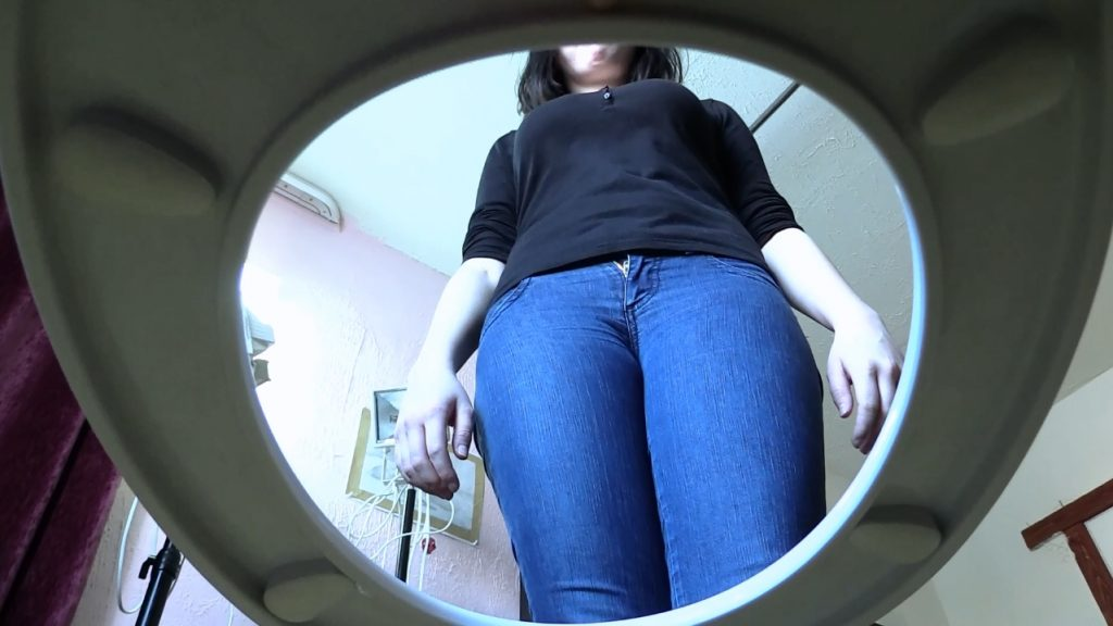 Femdom Scat and her Live Toilet Scat Slave (FULL HD 1080p) 1,14 Gb