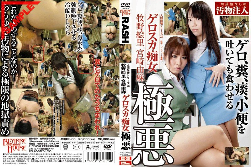 [2012] GS-30 Human Collapse Series 23 Geroska Slut Evil Eri Makino And Yuma Miyazaki (480p)