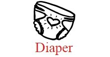 Diapers and Diapermess videos