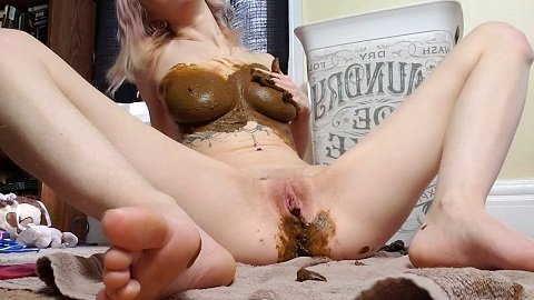 Xxecstacy - Scat Smear Dildo Fuck [1,03 Gb / FHD] AUGUST 8 2019 - Image 2