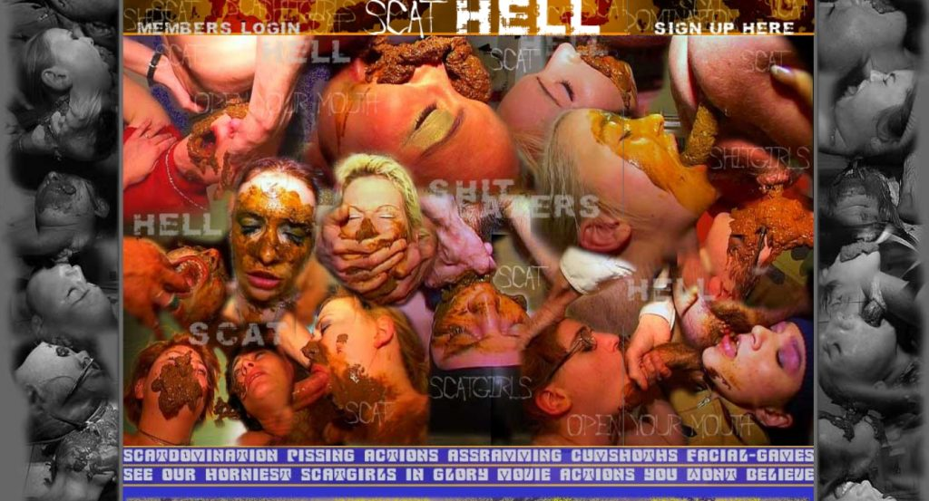 Super Scat Site Rip Scat-Hell.Com (2005-2012)