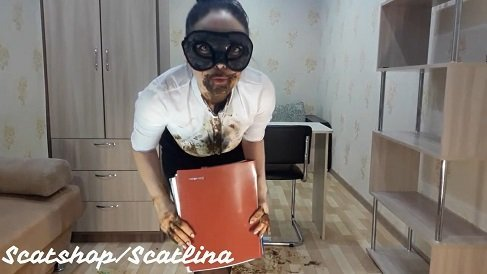 ScatLina - Shitty secretary. Part 2 (29.03.2020)