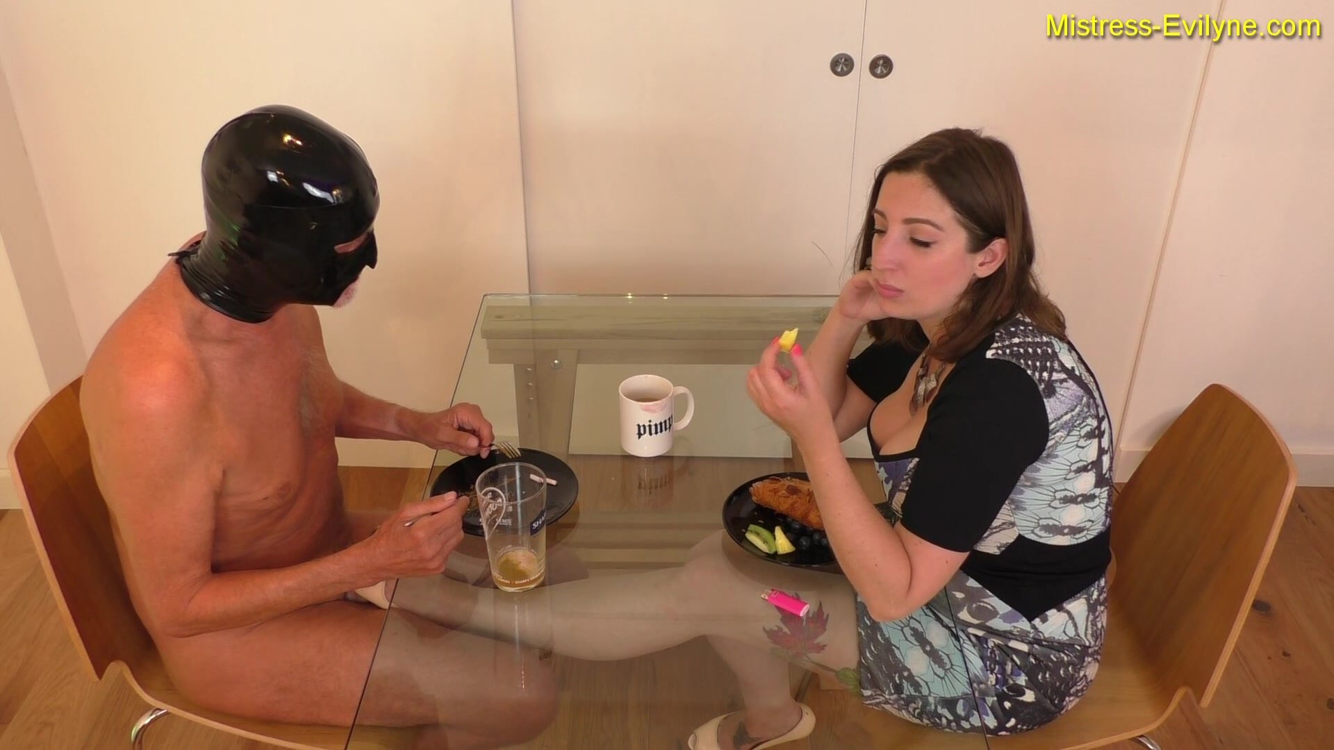 MISTRESS EVILYNE – BREAKFAST IS SERVED! – FULL-HD-1080P (eng)