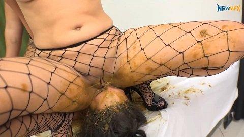 newmfx.com present Shit Job – Victoria, Nicole, Saori Kido