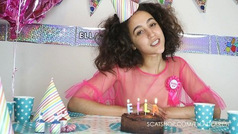 Ella Dearest – Hand Finishing My Birthday Cake (ScatShop.com)