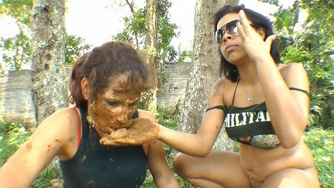 Lesbian Scat Military Girls – Mistress Natalia Martinez (SG-video.com)