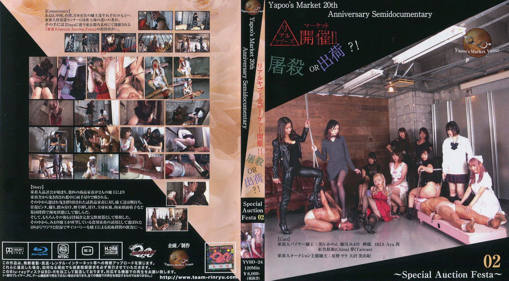 YVBD-24 – Yapoo's Market 20th Anniversary Semidocumentary – BluRay
