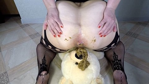 Hungry Bear Poop (06.11.2020) $15.99 (Premium user request) by Annalise