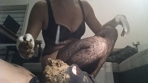 Hot Girls abused male Toilet $26.99 (Premium user request) Incredible scat torture by Lady Milena