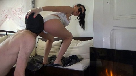 Poop on slave after morning coffee (11.11.2020) $11.99 (Premium user request) by Lila