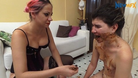 Lucy's Scat Slave (newmfx.com) Bruna and Lucy