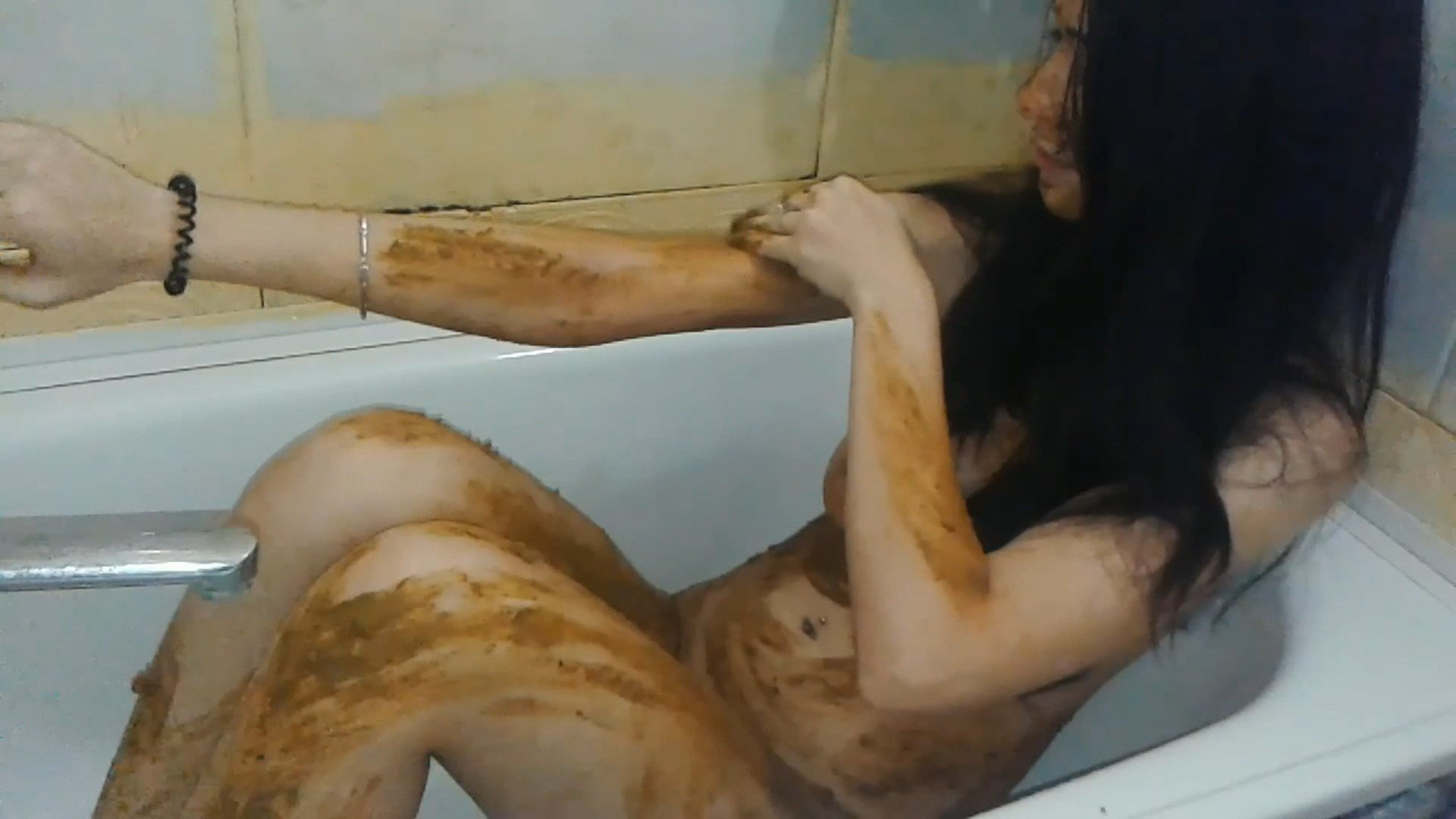 scat clip – kitchen and bathroom scat destruction. camera 2 – part 02 – matilda