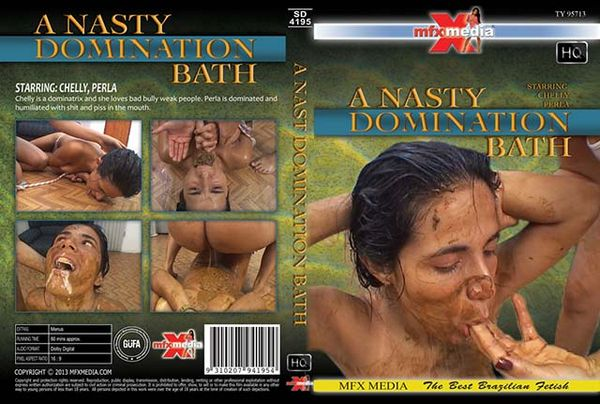 MFX-4195 A Nasty Domination Bath (2013) DVDRip