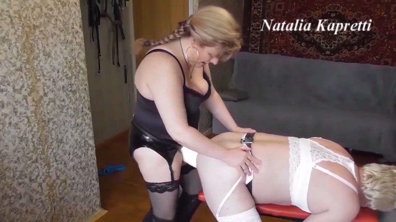 Natalia Kapretti – Husband bitch for strapon, sissy and toilet