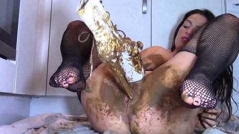 Scat Girl In Shitty Boots (ScatShop.com) $29,99 (Premium user request) by Evamarie88