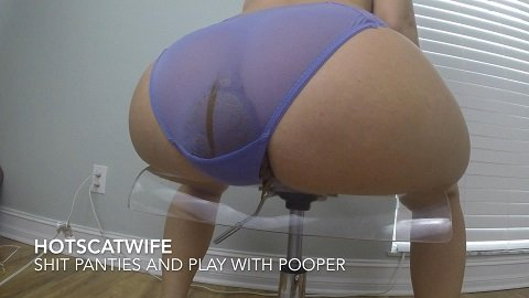 Shit my PANTIES and Play with my POOPER (2020) $19,99 (Premium user request) by HotScatWife